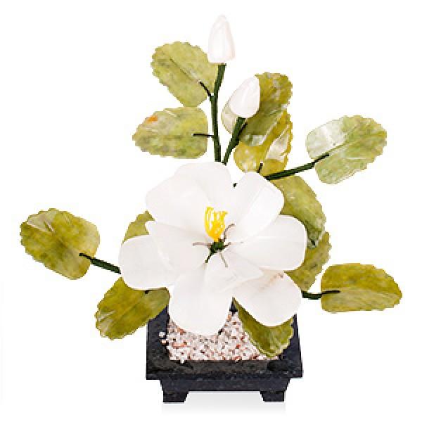 """Бонсай 22 см """"Чайный цветок """" (дерево счастья) - 1"""