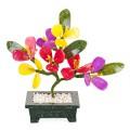 """Бонсай 17 см """"Цветы персика """" (дерево счастья)"""