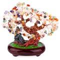 Бонсай 27 см Микс камней (дерево счастья из натуральных камней)