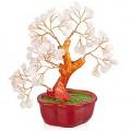 Бонсай 19 см Розовый кварц (дерево счастья из натуральных камней)