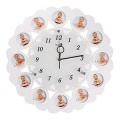 """12 месяцев"" настенные часы с фоторамками"