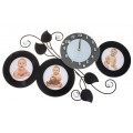 "Часы с фото ""Фантазия"" (настенные часы-фоторамка)"