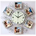 """Часы с фото """"Сквозь время"""" (настенный часы-фоторамка)"""