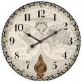 """Часы """"Вокруг света"""" маятник (диаметр 58 см)"""