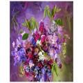"""40*50 см """"Магия цветов"""" картина-раскраска по номерам на холсте"""
