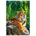 """40*50 см """"Тигрица"""" картина-раскраска по номерам на холсте"""