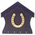 """Ключница """"Удача в дом"""" (золото) настенная открытая"""