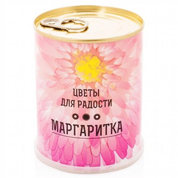 """""""Маргаритка"""" цветок в банке (набор для выращивания) - 1"""
