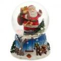 """Снежный шар """"С подарками"""" музыкальный стеклянный"""