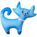 "Игрушка ""Кошечка"" голубая антистресс"