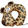 """Подушка под шею """"Леопард"""" антистресс (дорожная подушка-подголовник для путешествий)"""