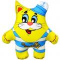 """Игрушка """"Морячок"""" жёлтый (подушка антистресс)"""