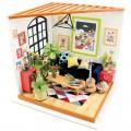 """Румбокс """"Гостиная"""" (набор-конструктор для создания кукольного интерьера в миниатюре)"""