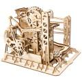 """Конструктор """"Лифт"""" деревянный с ручным приводом"""