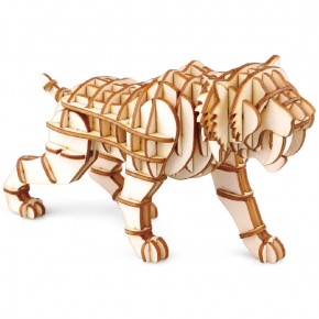 "3D пазл ""Саблезубый тигр"""