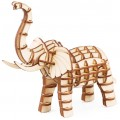 "3D пазл ""Слон"" деревянный"