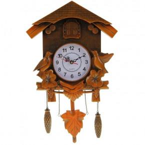 """Настенные часы """"Лесные трели"""" с маятником и кукушкой"""