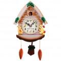 """Часы """"Мишки в домике"""" детские настенные с маятником и кукушкой"""