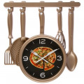 """Настенные часы """"Пицца"""""""