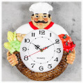 """Настенные часы """"Шеф-повар"""" кухонные"""