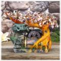 """Бонсай-фонтан """"Родник"""" (дерево счастья из камней и декоративный настольный фонтан с подсветкой)"""