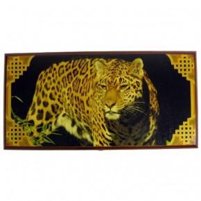 """Нарды """"Леопард"""" 50 см с полем для шашек"""