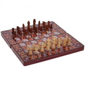 """Набор настольных игр 3 в 1 """"Стратегия"""": нарды, шахматы, шашки"""