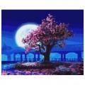 """""""Розовые мечты"""" 40*50 см картина-раскраска по номерам на холсте"""