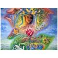 """Создание лета"" 40*50 см картина-раскраска по номерам на холсте"