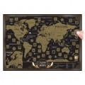 """Скретч-карта """"Весь мир"""" (стирающаяся карта путешествий)"""