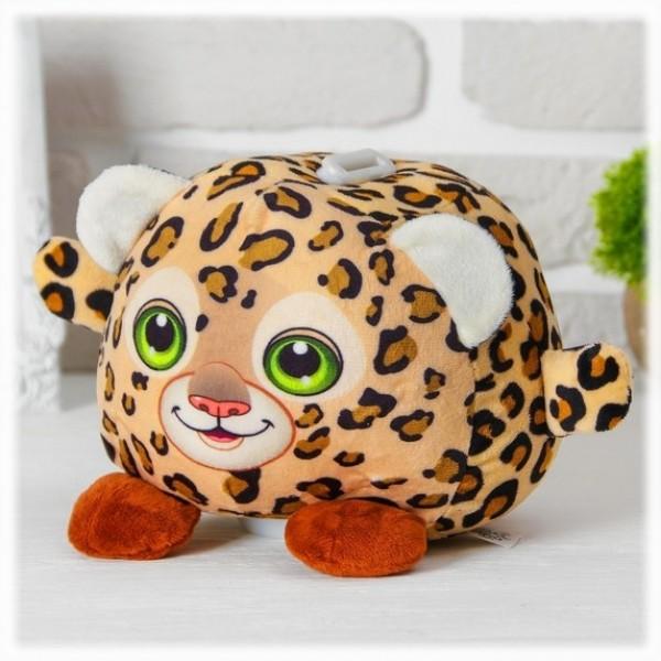 """Копилка """"Леопард"""" игрушка мягкая со звуком и подсветкой от 940 руб"""