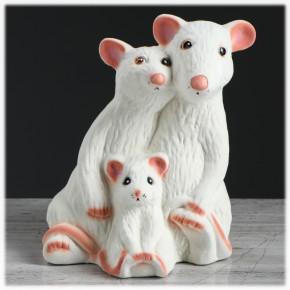 """Копилка """"Семья мышек"""""""