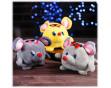 """Интерактивная копилка """"Весёлая мышь"""" (мягкая музыкальная игрушка): 6 цветов"""