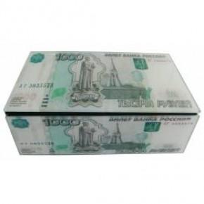 """Купюрница """"1000 рублей"""" (шкатулка для денег)"""