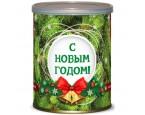 """""""С Новым Годом"""" лиственница в банке (набор для выращивания)"""