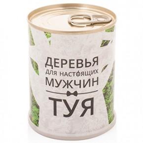 """Набор для выращивания """"Туя"""" для мужчин (дерево из банки)"""