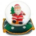"Шар ""Санта на подушке"" снежный"