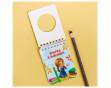 """Подарочный набор """"К знаниям"""": 2 карандаша + блокнот + 2 ластика"""
