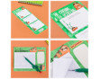 """Подарочный набор """"Ленивые планы"""": блокнот двойной, бумага для записей, авторучка, стикеры, планер и блокнотик"""