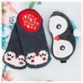 """Набор """"Пингвин"""" подарочный (маска для сна + носочки)"""