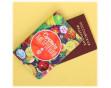 """Подарочный набор """"Сочного настроения"""": обложка на паспорт + термостакан"""