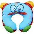 """Подушка """"Будильник"""" детская под шею антистресс (дорожная подушка-подголовник для путешествий)"""