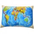"""Подушка """"Карта мира"""" антистресс"""