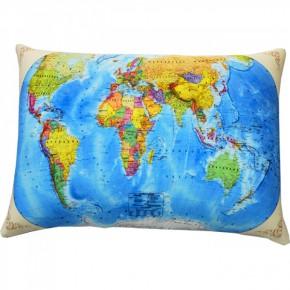 """Подушка антистресс """"Карта мира"""""""