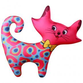 "Подушка-игрушка антистресс ""Кошечка"" розовая"