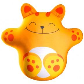 """Подушка-игрушка антистресс """"Кот Лучик"""" оранжевый"""