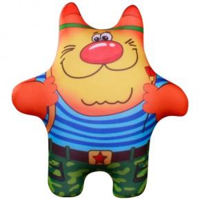 """Подушка-игрушка антистресс """"Кот солдат"""""""