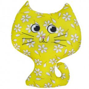 """Подушка-игрушка антистресс """"Котёнок"""" жёлтый"""