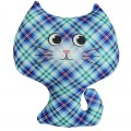 """Игрушка """"Котёнок"""" синий (подушка антистресс)"""