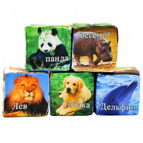 """Набор кубиков для детей """"Животные"""""""